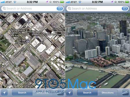 شائعة: ابل ستطلق خدمة خرائط ثلاثية الابعاد مع iOS 6