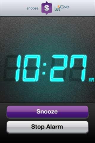 تطبيق Snooze