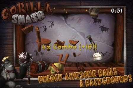 لعبة Gorilla Smash