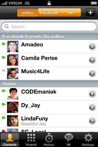 تطبيق ooVoo