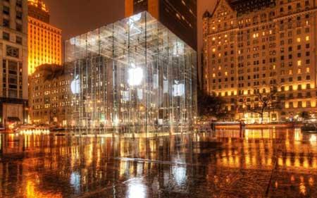 متاجر ابل تتمتع بأوسع اقبال في المدن الامريكية