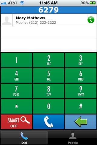 تطبيق DialAway
