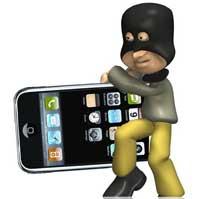 سرق الايفون واللص ينشر الصور في الفيسبوك