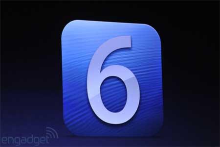iOS 6 احدث نسخة من نظام ابل