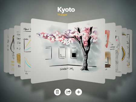 تطبيق للرسم والتصميم للايباد