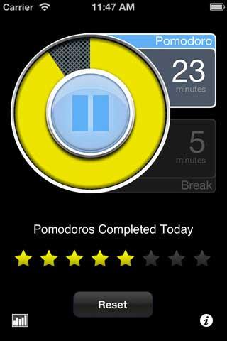 تطبيق PomodoroPro