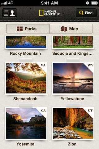 تطبيق National Park