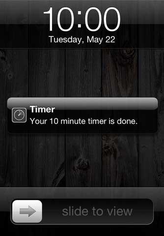 تطبيق Timer