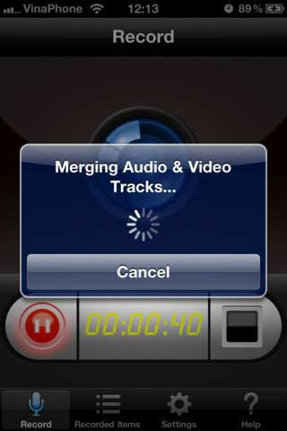 تطبيق Display Recorder