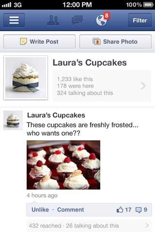 تطبيق Facebook Pages Manager