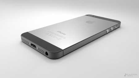 الايفون 5 الذي تم تجميعه من الصور المسربة
