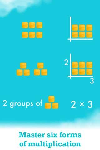 لعبة تعليمية للصغار: Motion Math: Wings