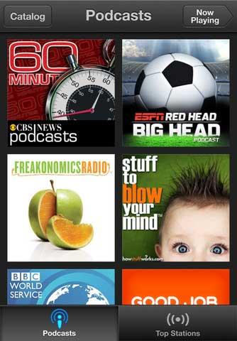 تطبيق Podcasts