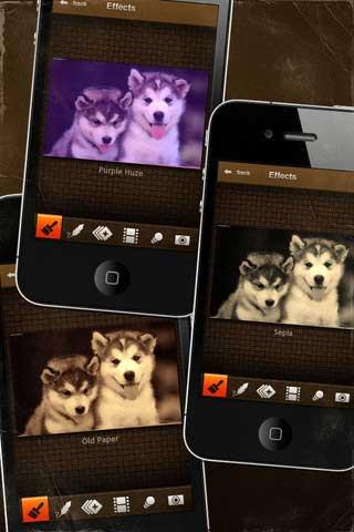 مؤثرات التصوير الرائعة في تطبيق مجاني