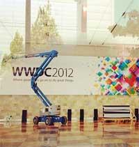 Photo of بالصور: استعدادات حثيثة لمؤتمر المطورين لدى شركة ابل
