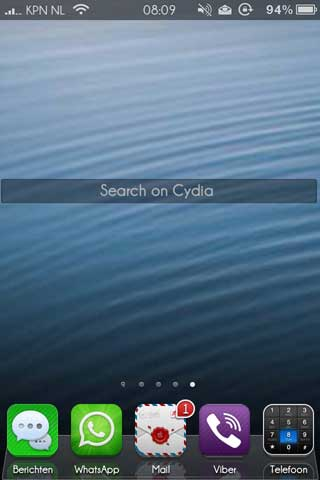 اداة كمحرك بحث في الصفحة الرئيسية للسيديا