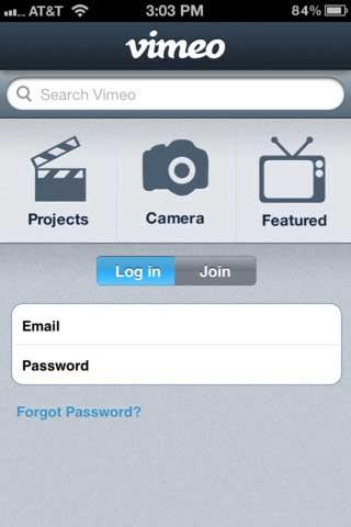 تطبيق Vimeo