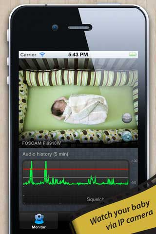 Baby Monitor for IP Camera