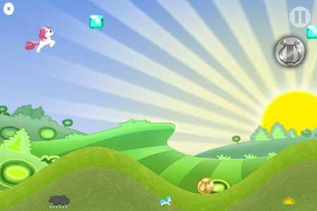 لعبة Unicorn Rainbow Ride