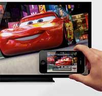 كيف نوصل جهاز الايفون بشاشة التلفزيون؟