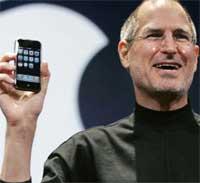 ستيف جوبز يعلن عن الايفون