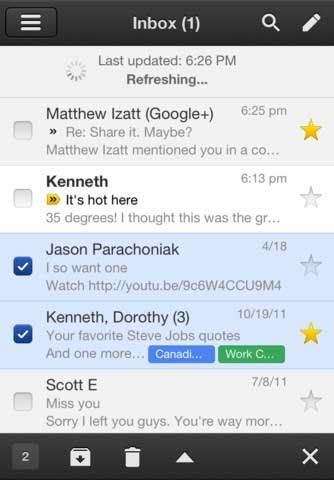 تطبيق Gmail