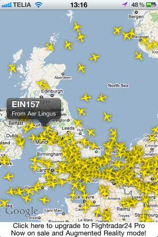 تطبيق FlightRadar24