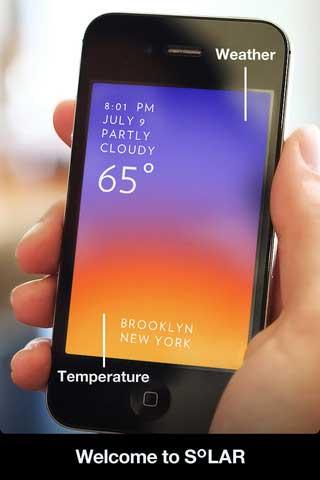 تطبيق Solar : Weather