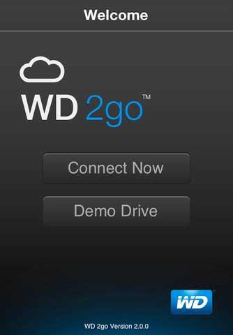 تطبيق WD 2go