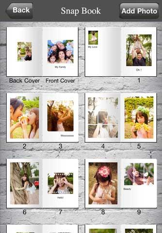 تطبيق Snap Book