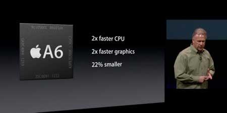 معالج A6 المعتمد في الايفون 5 يكيف سرعته حسب العمل
