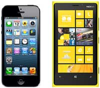 مقارنة: نوكيا ترى ان هاتفها لوميا 920 افضل من الايفون 5