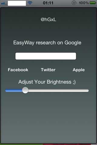 السيديا: EasyWay عبارة عن متصفح صغير للبحث السريع