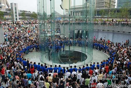 ابل تفتح اكبر متجر لها في اسيا في العاصمة الصينيةابل تفتح اكبر متجر لها في اسيا في العاصمة الصينية
