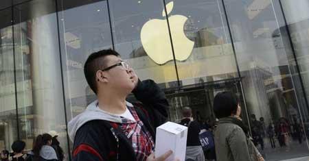 ابل تفتح اكبر متجر لها في اسيا في العاصمة الصينية