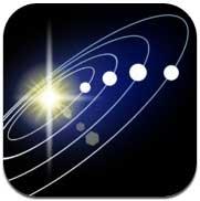 صورة تطبيق Solar Walk لتجول الكون وما يحتويه من نجوم وأقمار وكواكب