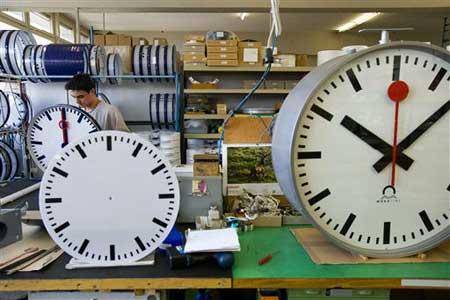 الساعة الاصلية