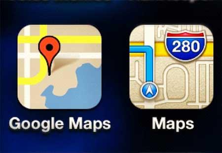خرائط جوجل قريبا في اجهزة ابل ؟