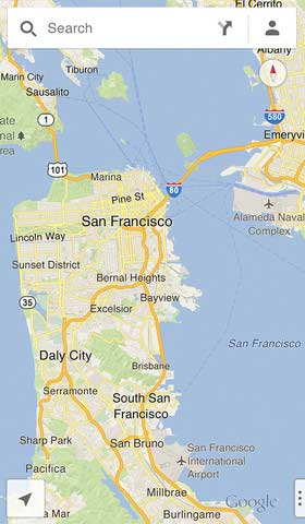 تطبيق Google Maps