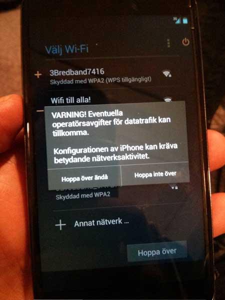 خطأ في الاندرويد: جوجل تعتبر النيكسوس جهاز ايفون