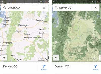 ارشاد: كيف نفتح خرائط جوجل على صفحة التضاريس