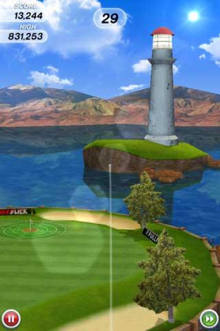 لعبة Flick Golf