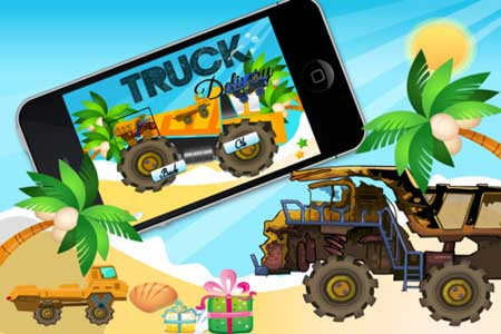 لعبة Truck Rocks