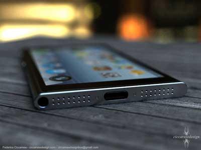 تصور لنموذج الايفون 6 بإيحاء من تصميم الايبود نانو