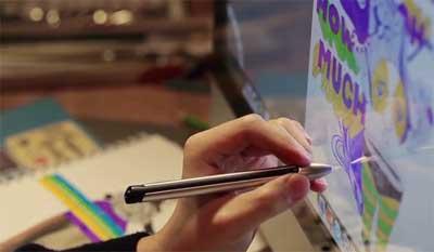 قلم الكتروني iPen 2 متوافق مع الايباد وiMac في آن معا