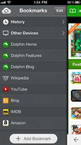 تطبيق Dolphin Browser