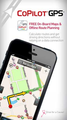 تطبيق GPS Copilot