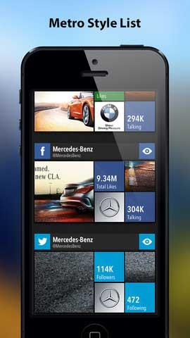 تطبيق Social Tiles