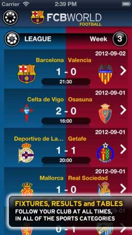تطبيق FCB World