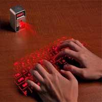معرض CES 2013: لوحة مفاتيح تعمل بالليزر تصل الى الايفون